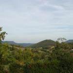 Photographie des montagnes aux alentours